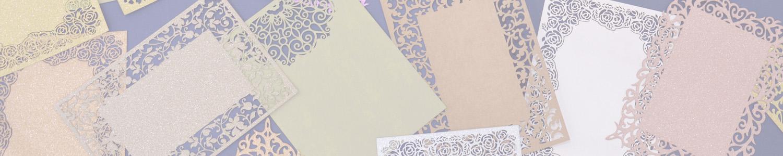 Glitter Flat Card
