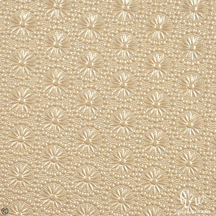 image relating to Printable Decorative Paper identify Radiate Spherical Flower Champagne Shade Textured Paper-MEP07-05BRW